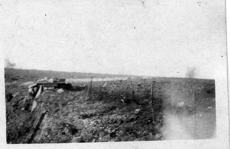 Pozieres Ridge 22 Jul 1916