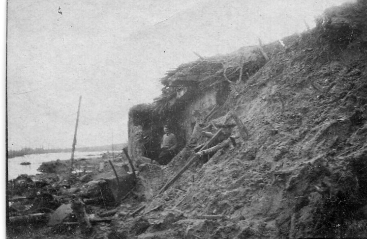 Pillbox waterfront Jan 1918