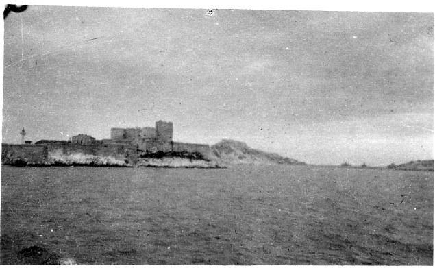 Toulon Harbour March 1916