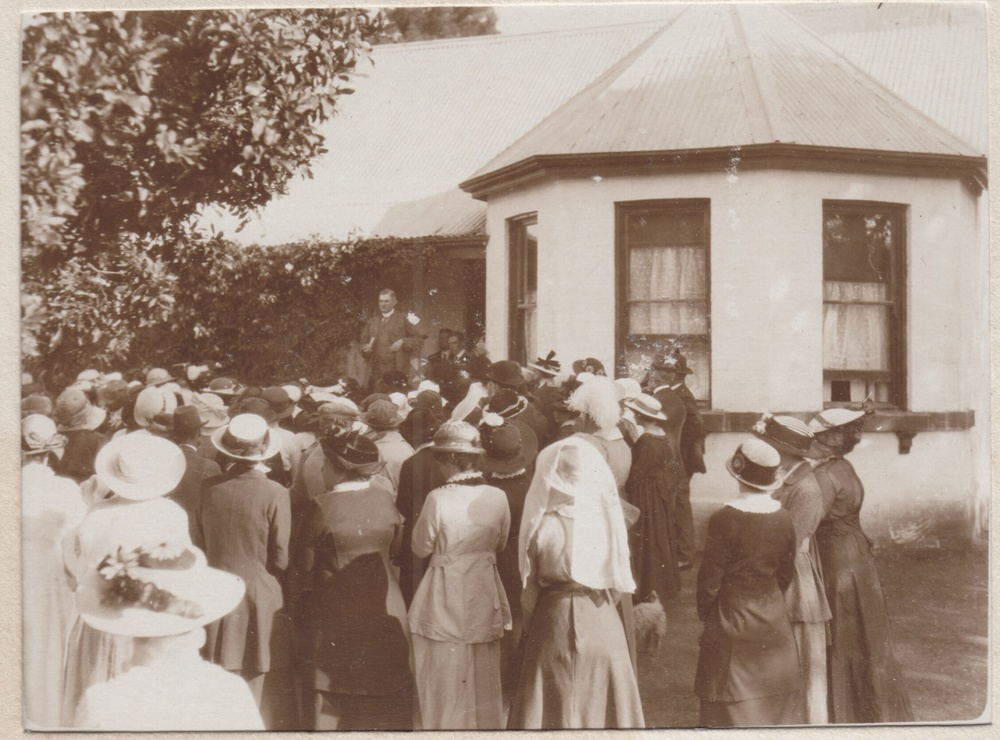 Official opening of Burradoo Convalescent home 1915