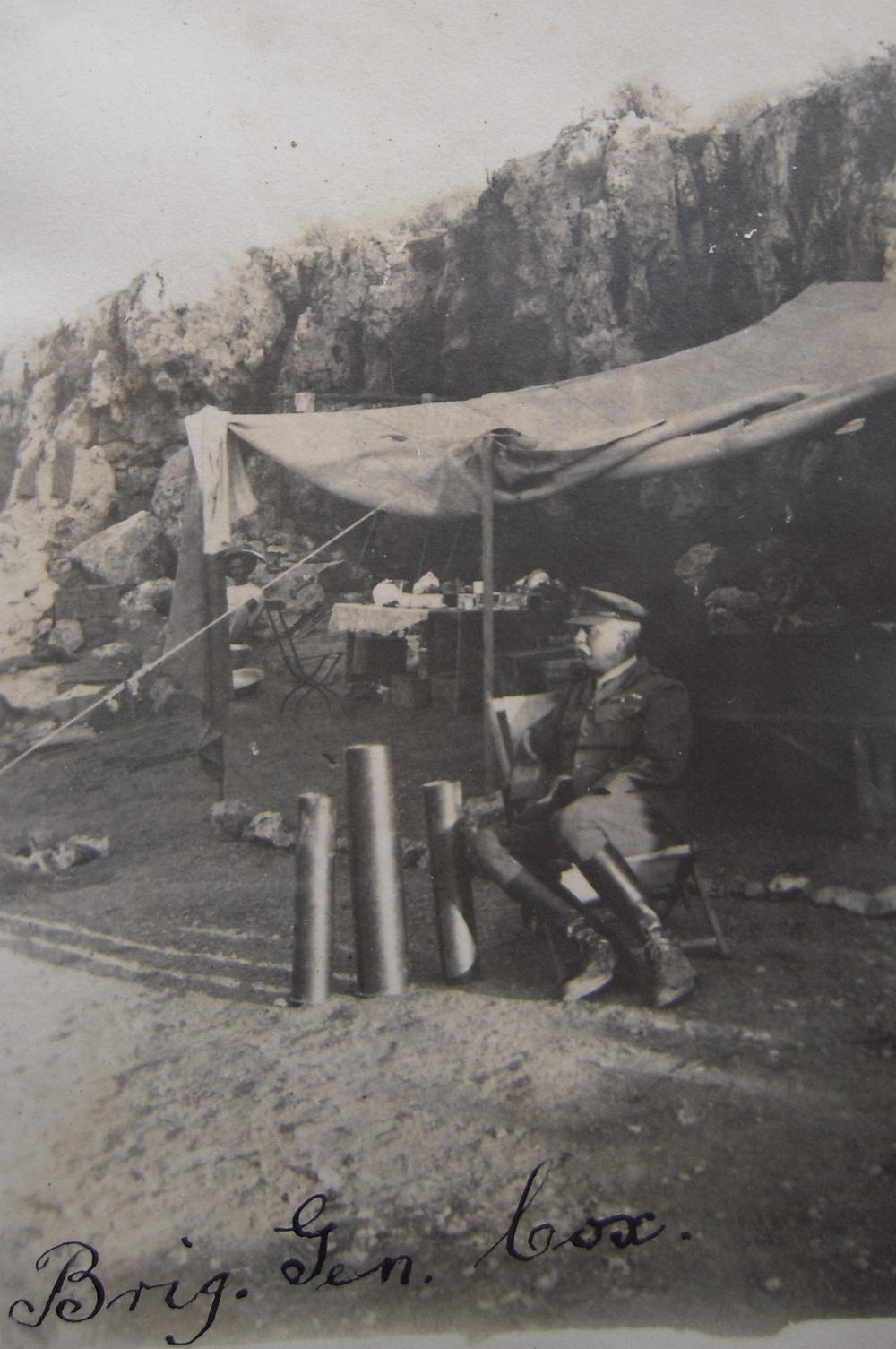 Brigadier General Cox