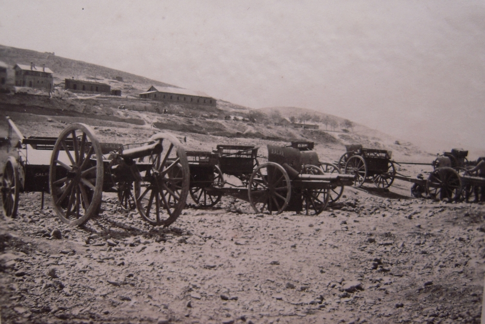 Captured Turkish Gun