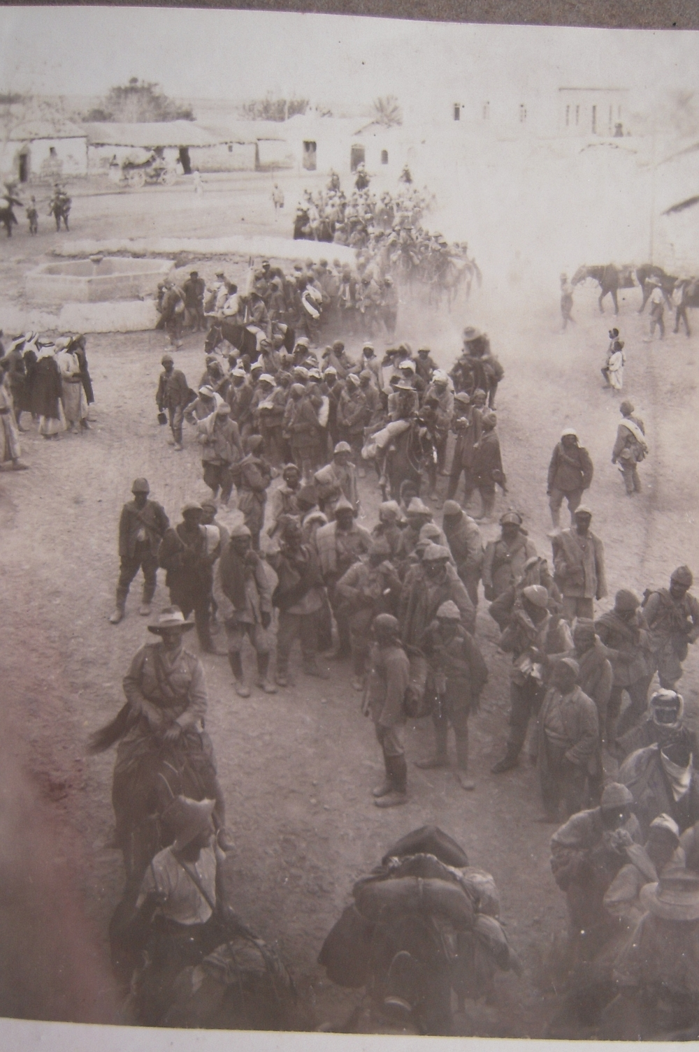 Turkish prisoners passing through Jericho