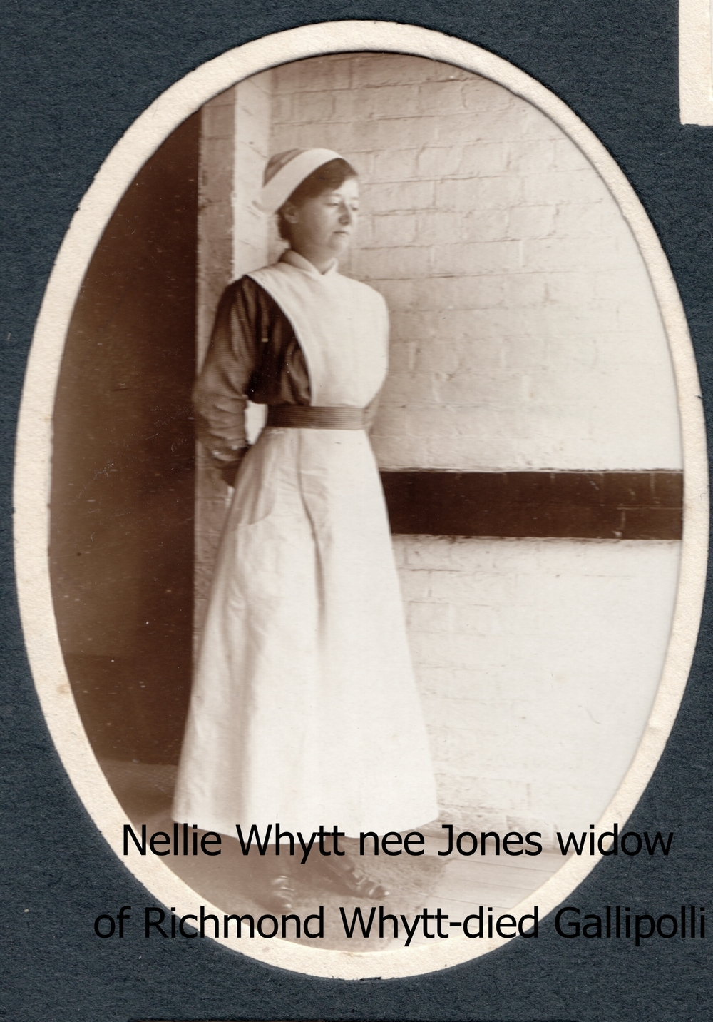 Whytt, Nellie nee Jones, widow of Richmond Whytt who died at Gallipoli.jpg