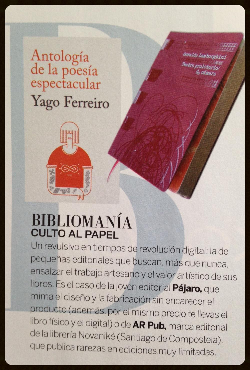Revista Woman, Abril 2014