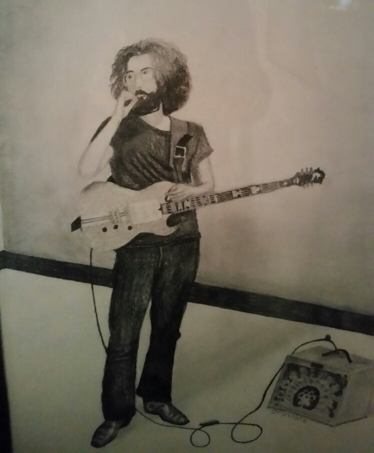 Drawing done by my wife, Erin.