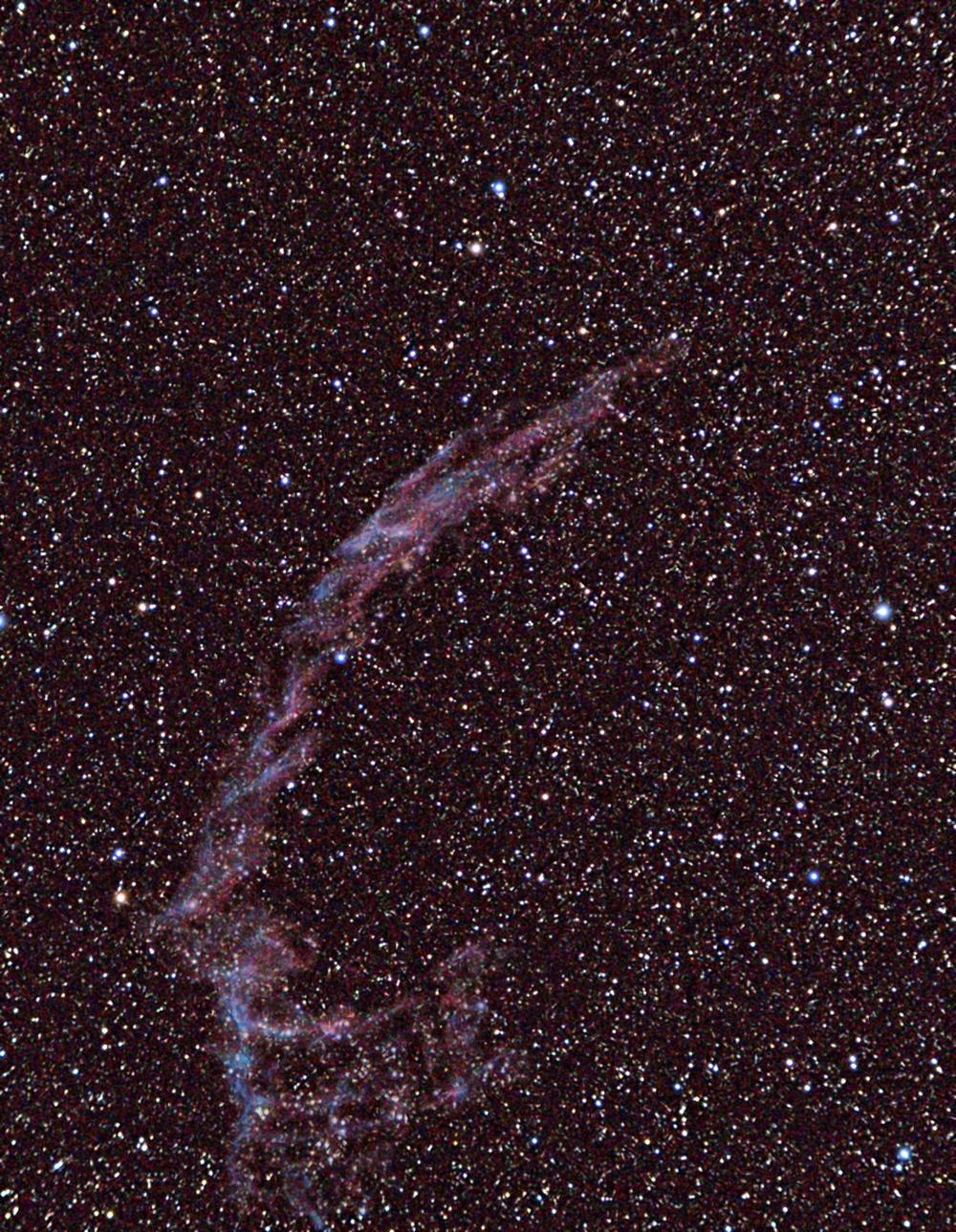 Veil Nebula (East, NGC 6992, 6995)