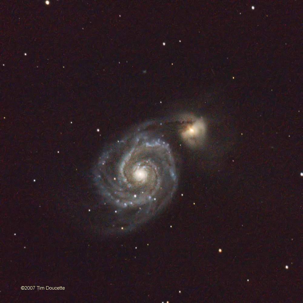 The Whirlpool Galaxy (M52)