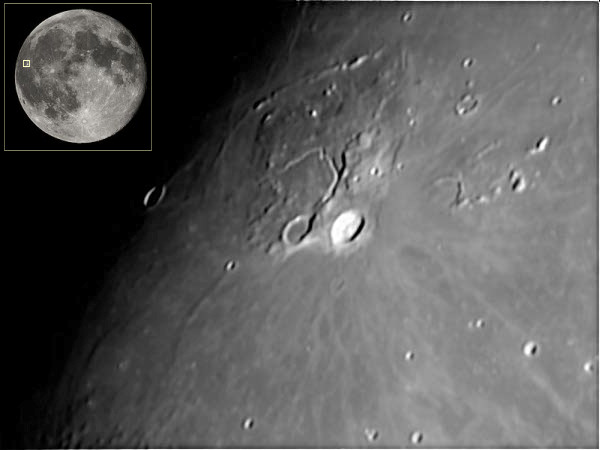 Moon Craters - Aristarchus