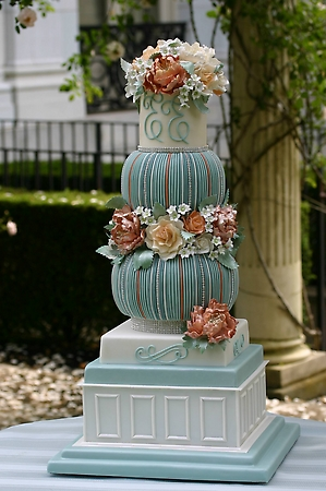 Chef Soliday makes each cake an amazing work of art.