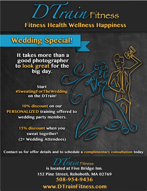 DTrain Fitness Flyer