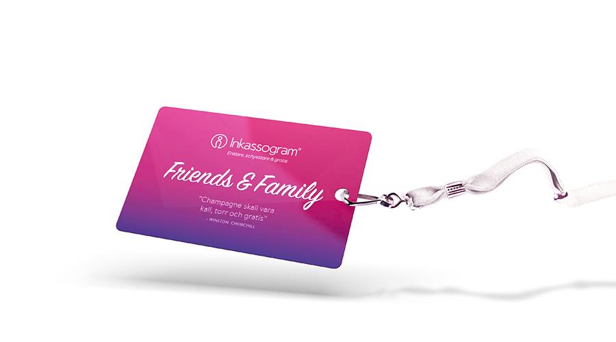 Friends & Family-kort