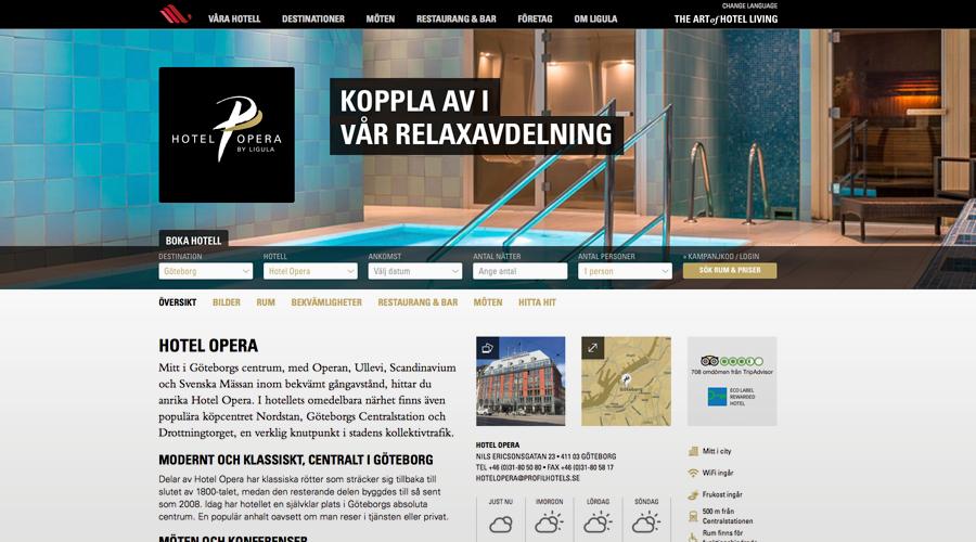 Profil Hotel – Hotel Europa Göteboeg