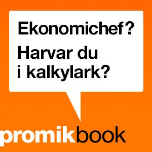 Hösten är här som vanligt. Likaså kampanj för PromikBook – DI, DN, GP, m fl, print och digitalt.