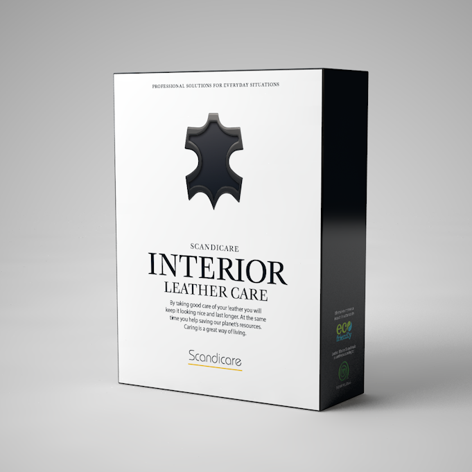 Förpackningsdesignen klar för nytillskottet i Leather Masters sortiment på den europeiska marknaden.