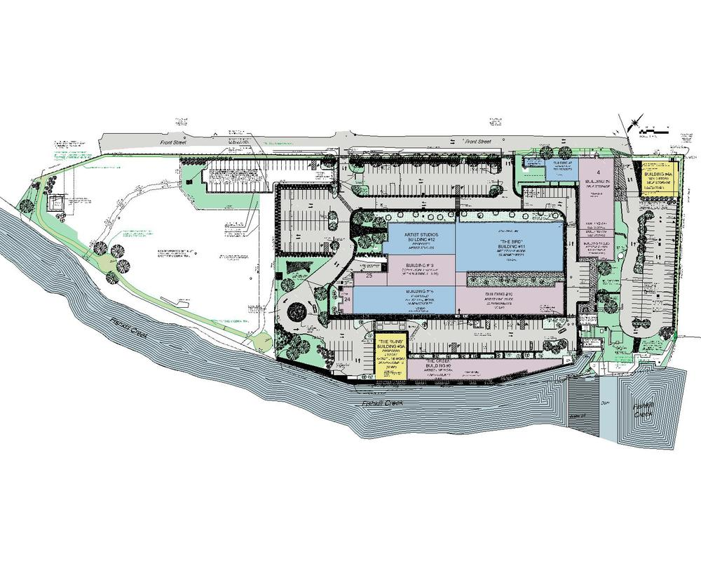 Site Plan Aryeh Siegel Architect