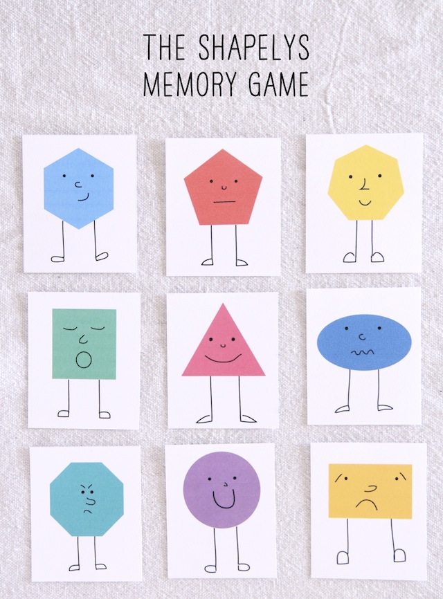 photograph regarding Printable Memory Games known as 50 Cost-free Memory and Matching Video games for Preschool - Homeschool