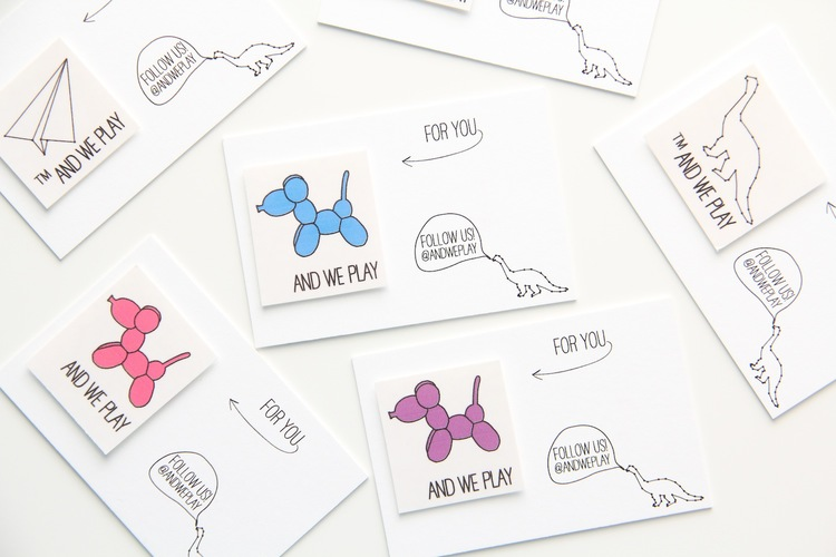 New business cards download and we play diy for kids and we play business cards colourmoves Gallery