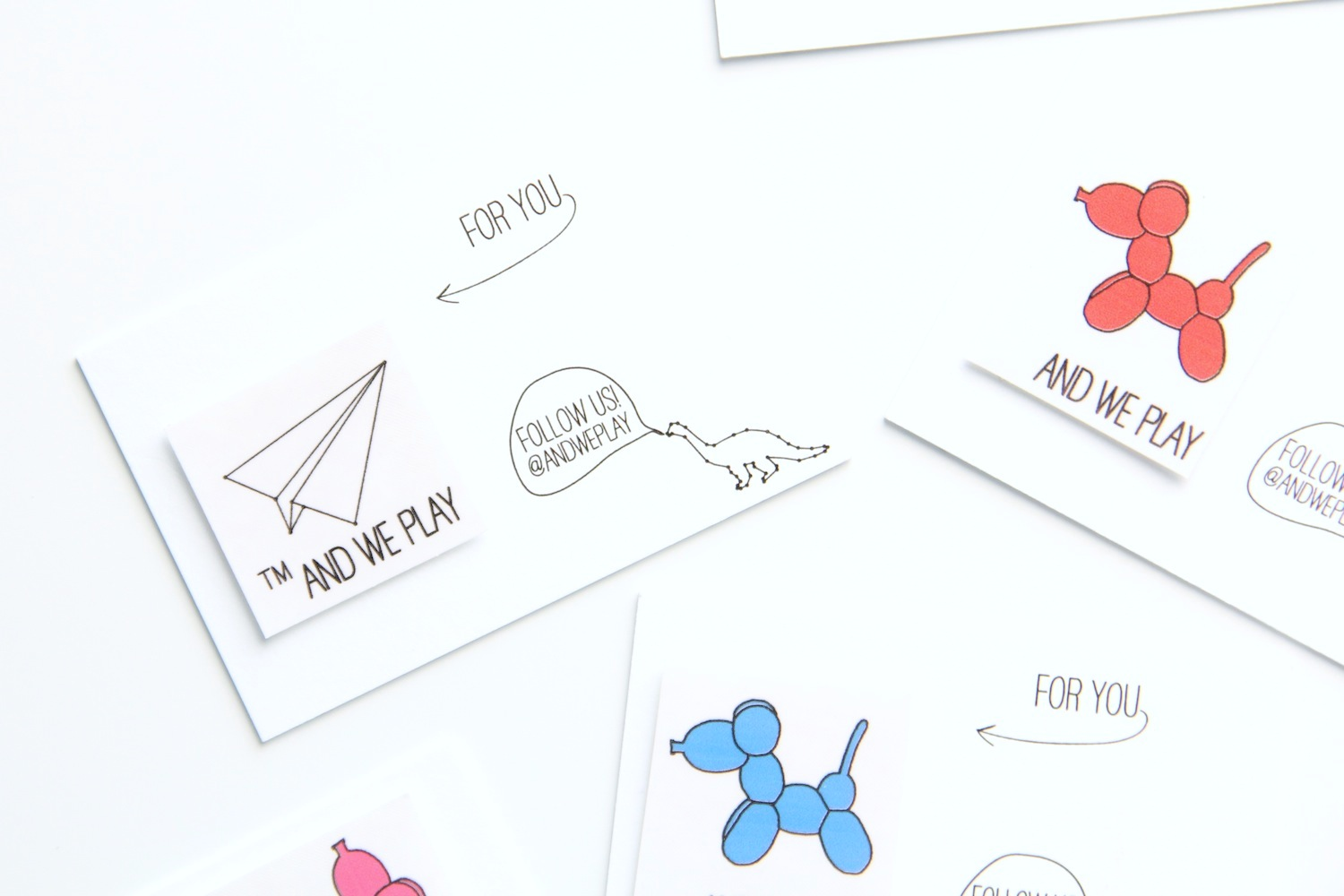 New business cards download and we play diy for kids temporary tattoo business cards colourmoves