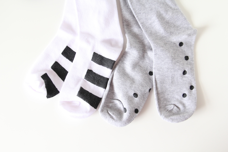 DIY Anti-slip socks