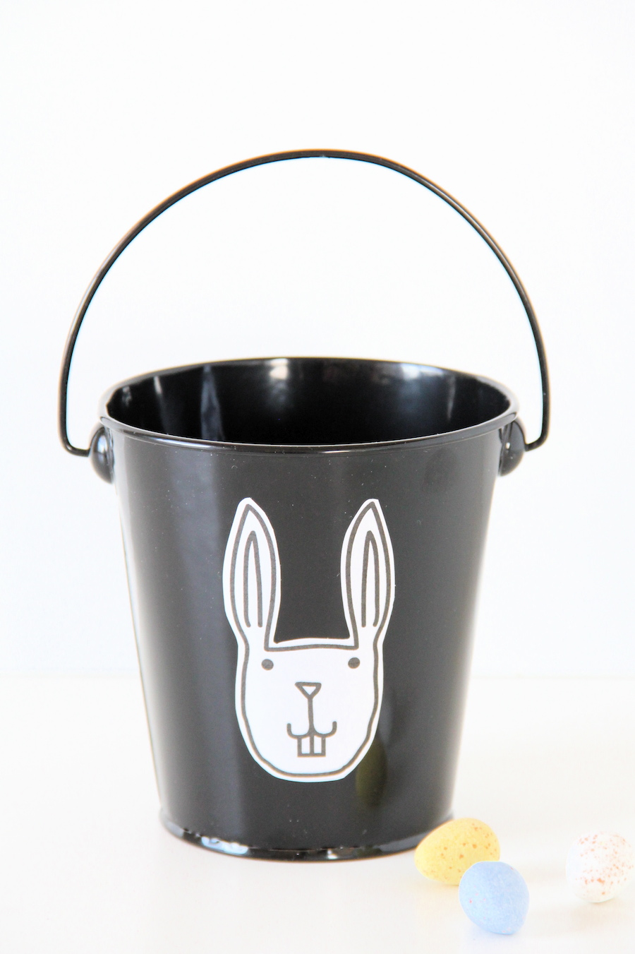 Easter sticker buckets