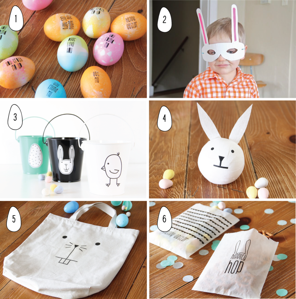 Favorite Easter crafts from And We Play