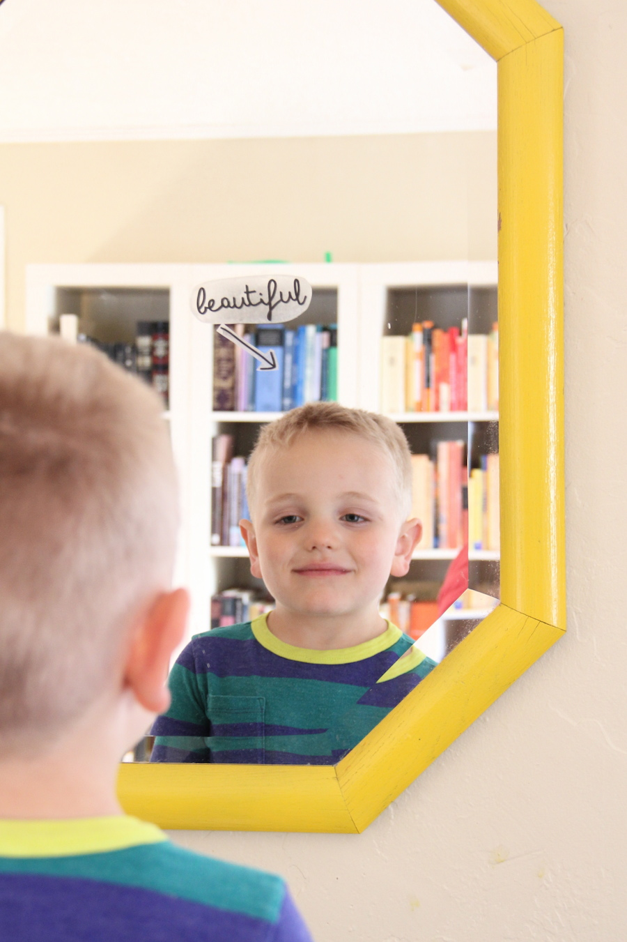 Printable mirror decals (click through for link)