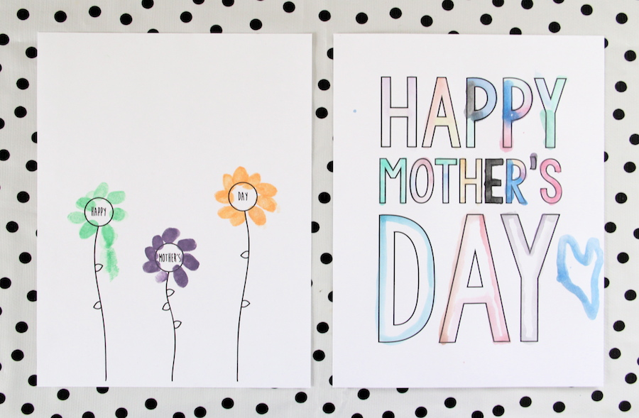 Printable Mother's day cards!
