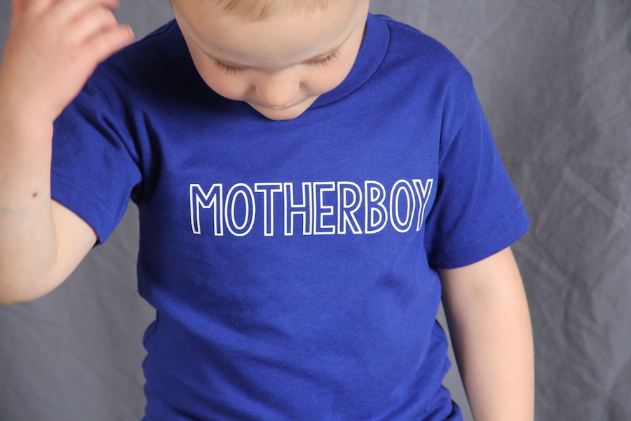 DIY mother's day shirts for kids