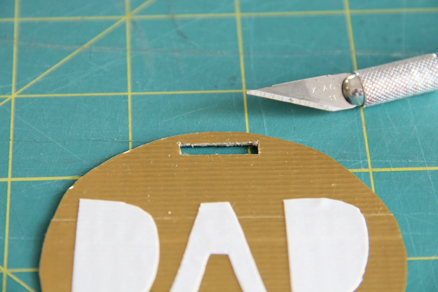 DIY Father's Day Medals