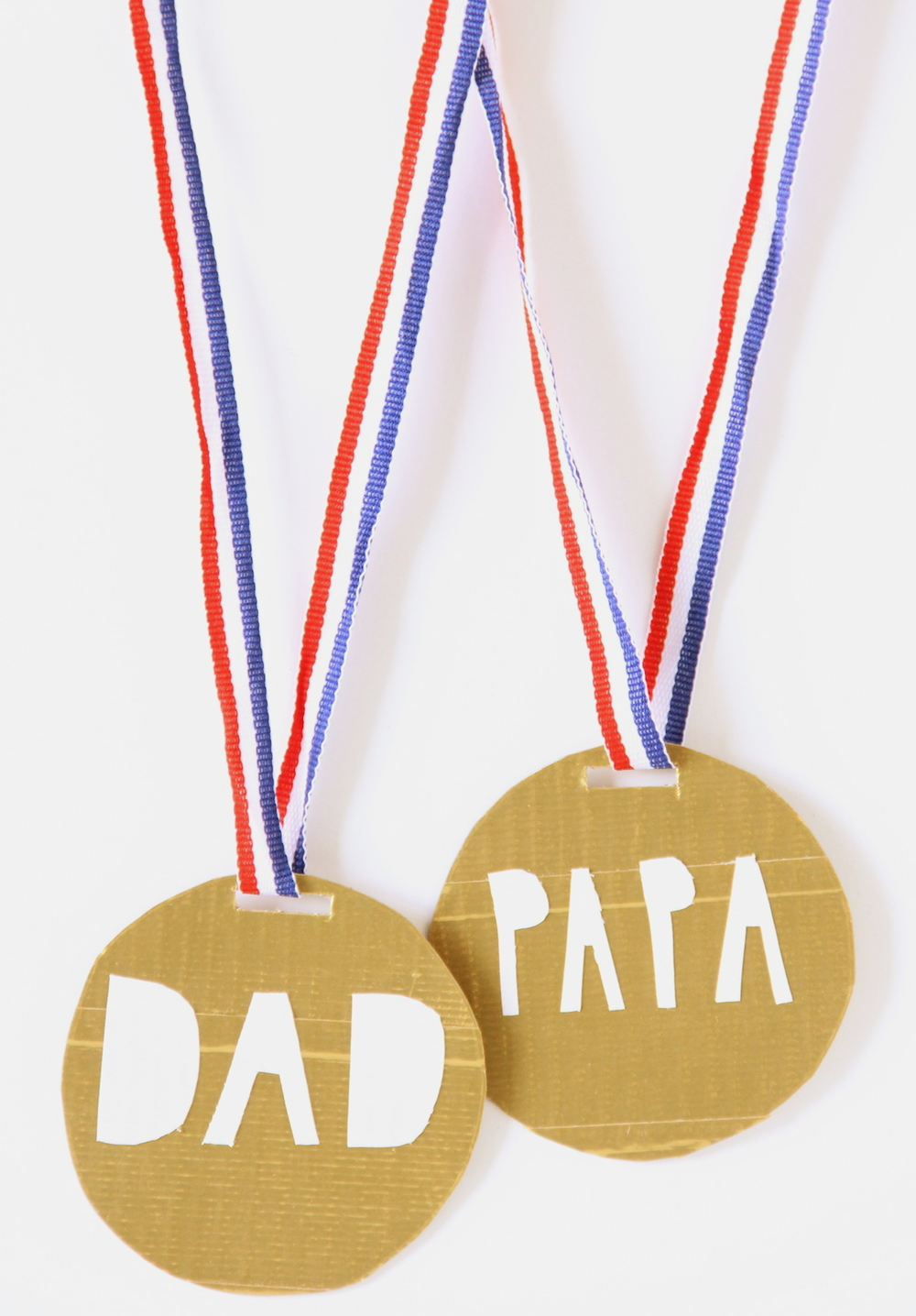 FATHER'S DAY MEDALS — And We Play | DIY For Kids