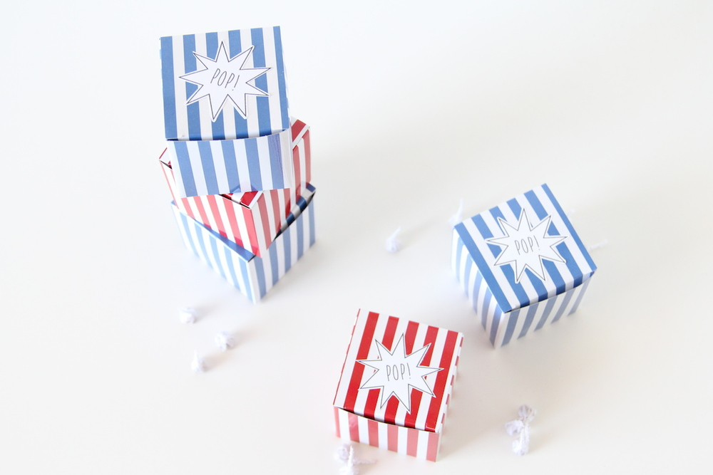 4th of July party favors