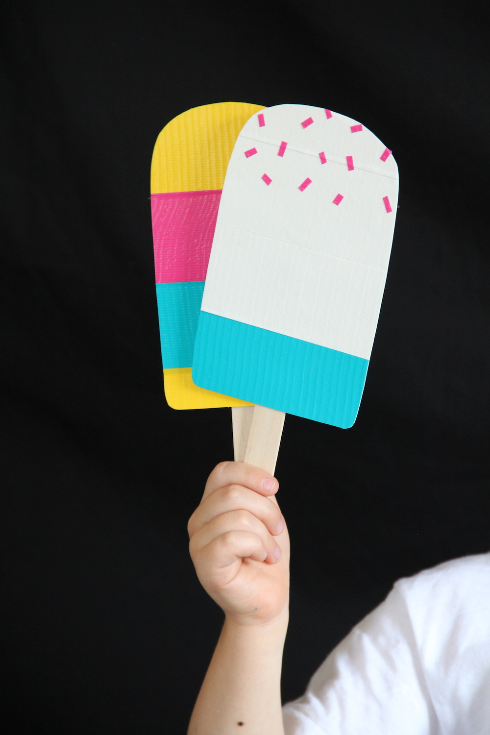 Toy popsicle DIY