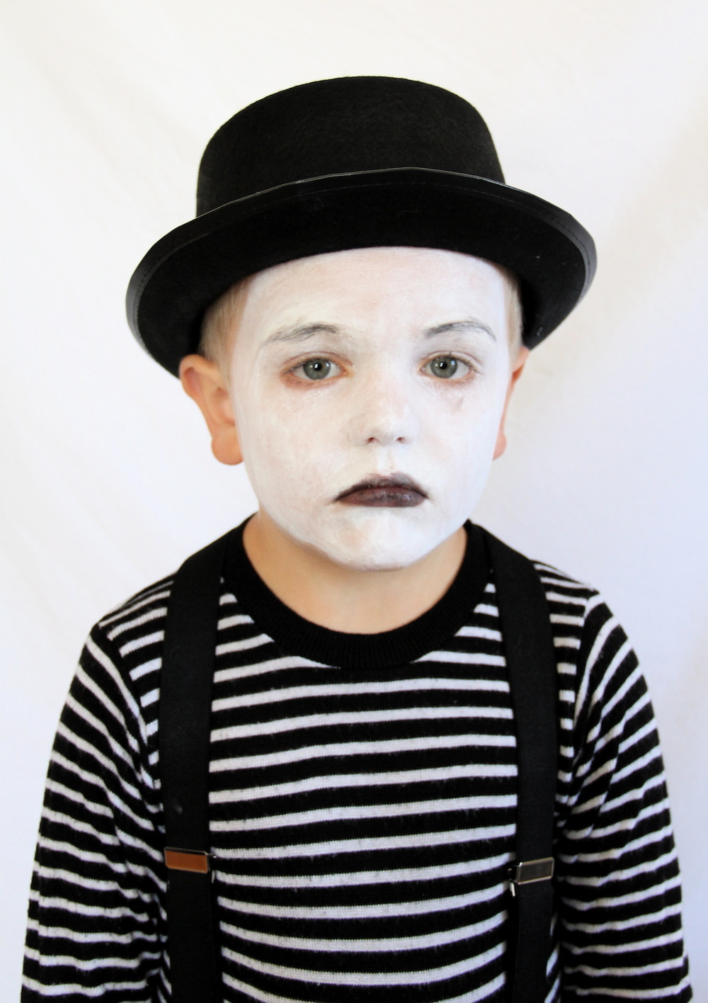 Mime Costume And We Play Diy For Kids