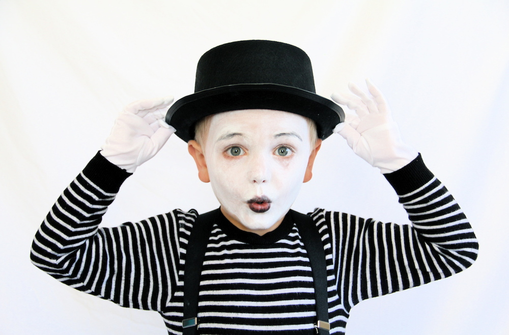 MIME COSTUME  sc 1 st  And We Play & MIME COSTUME u2014 And We Play | DIY For Kids