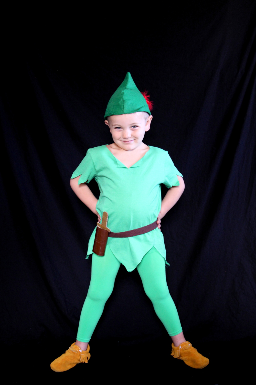 Easy Peter Pan costume | And We Play