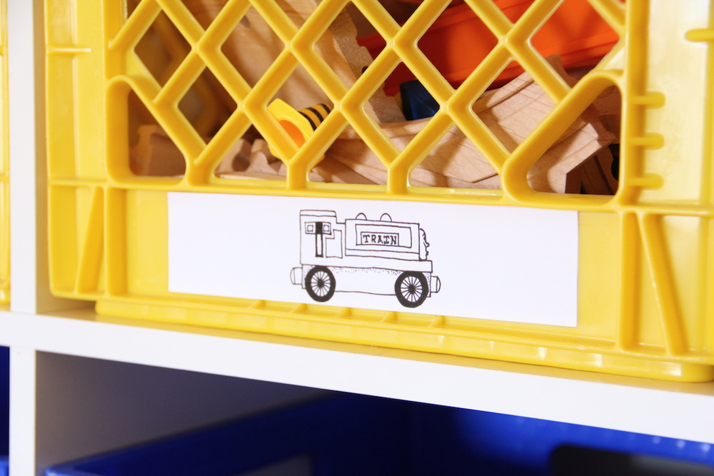 Printable toy box labels | And We Play