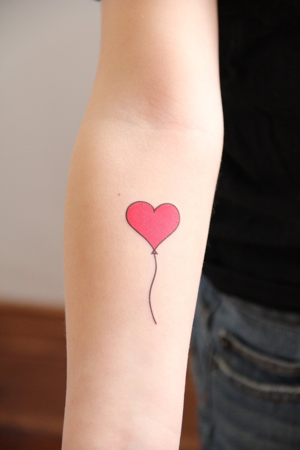 Printable valentine tattoos! | And We Play