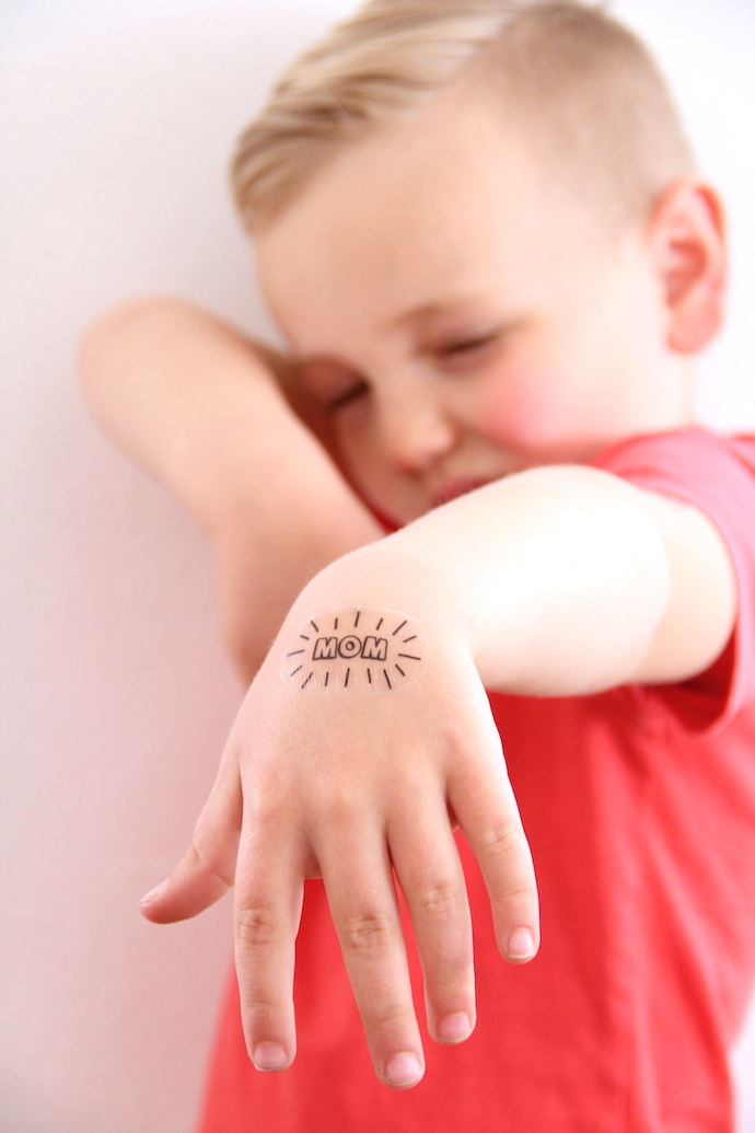 Printable mother's day temporary tattoos | And We Play