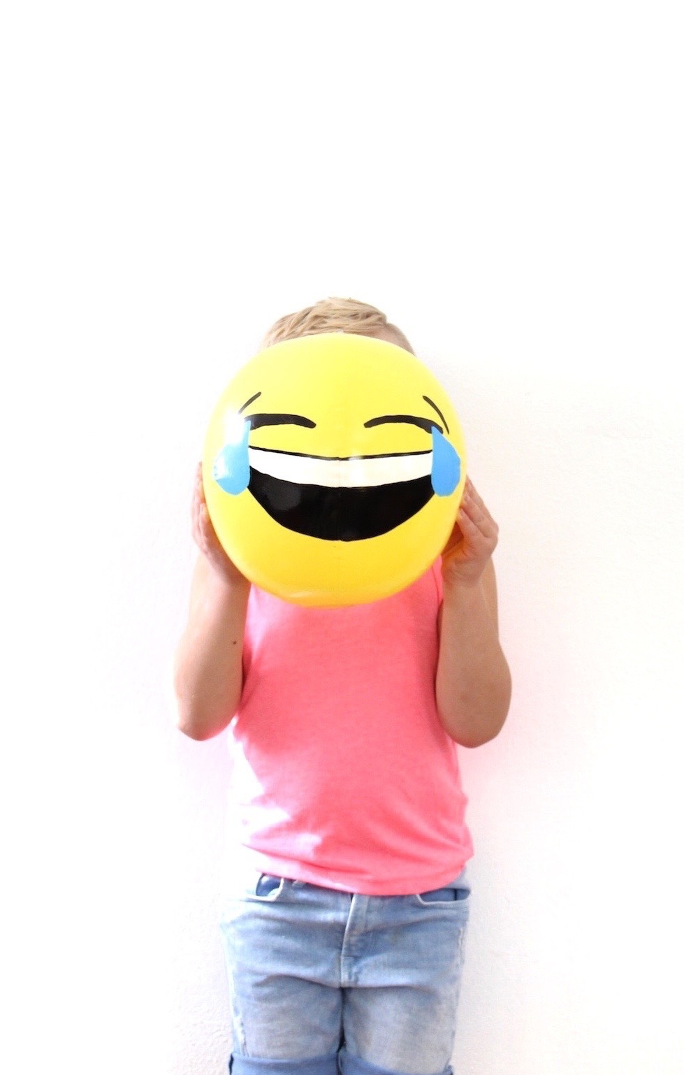 DIY emoji beachballs | And We Play