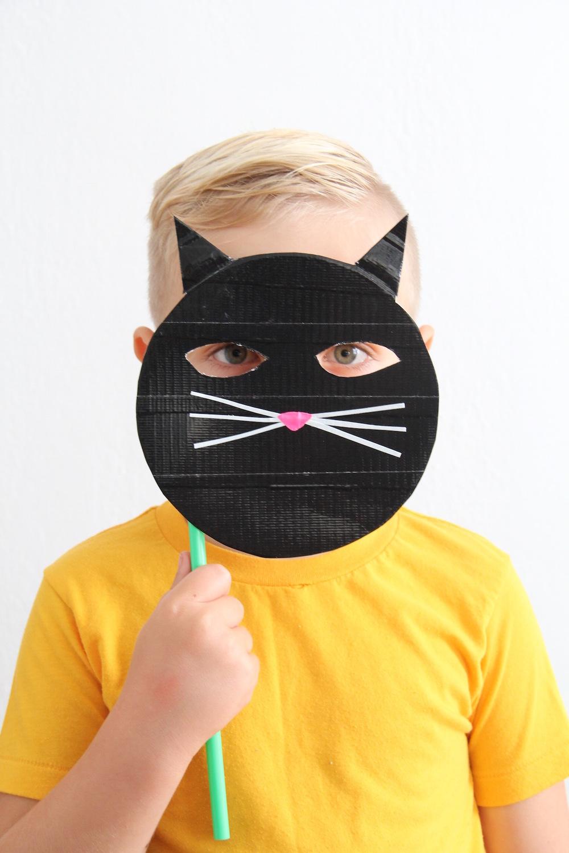 Diy Cat Mask: DIY CAT MASK — And We Play