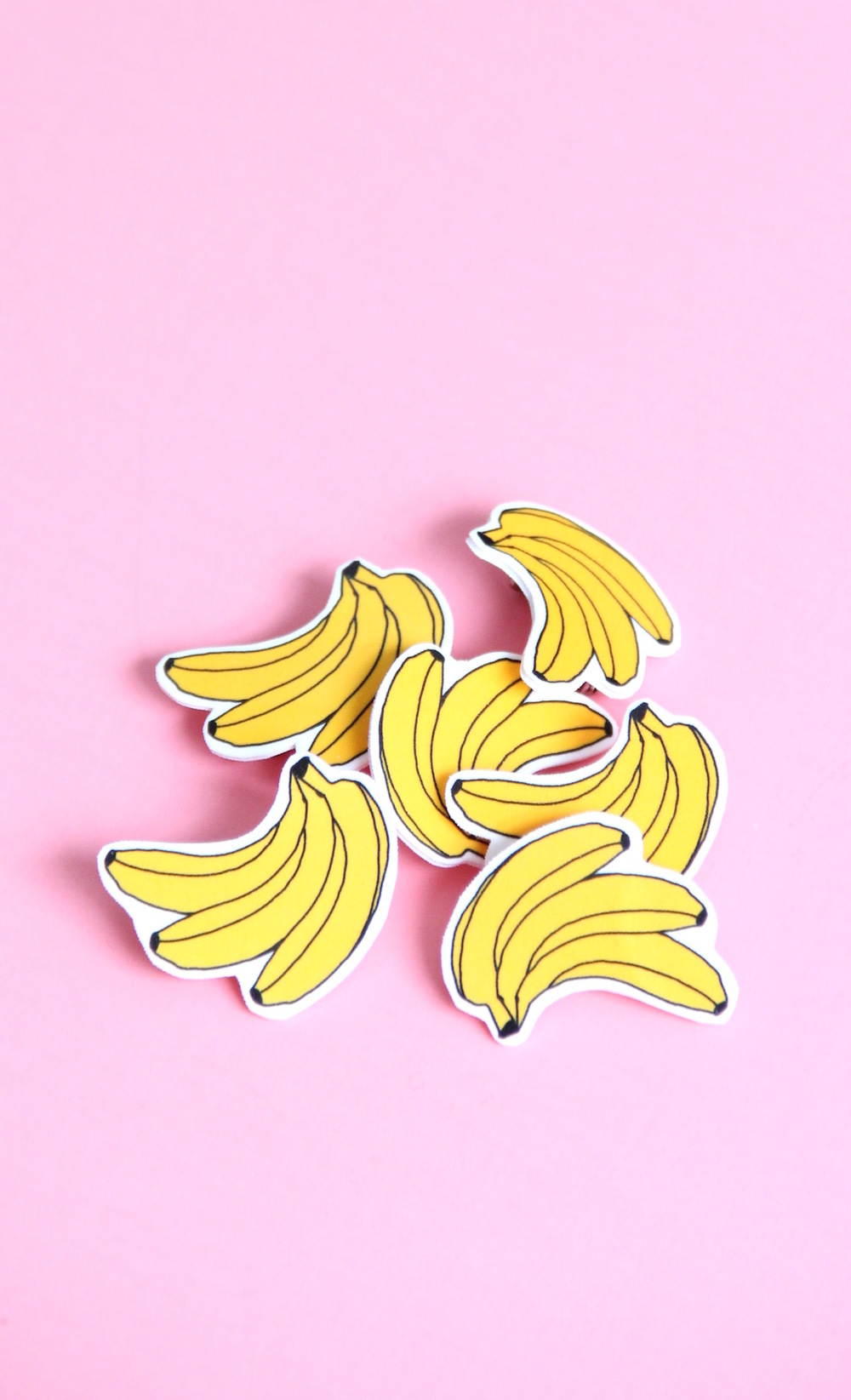 Bananas for you valentine printable + DIY banana pin! | And We Play