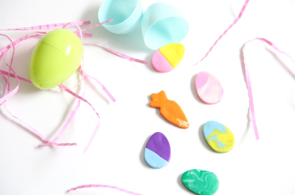 DIY Easter erasers for kids - the perfect basket filler!
