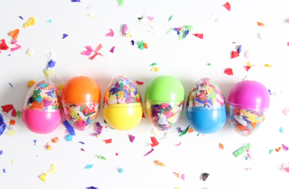 DIY Confetti Eggs | And We Play