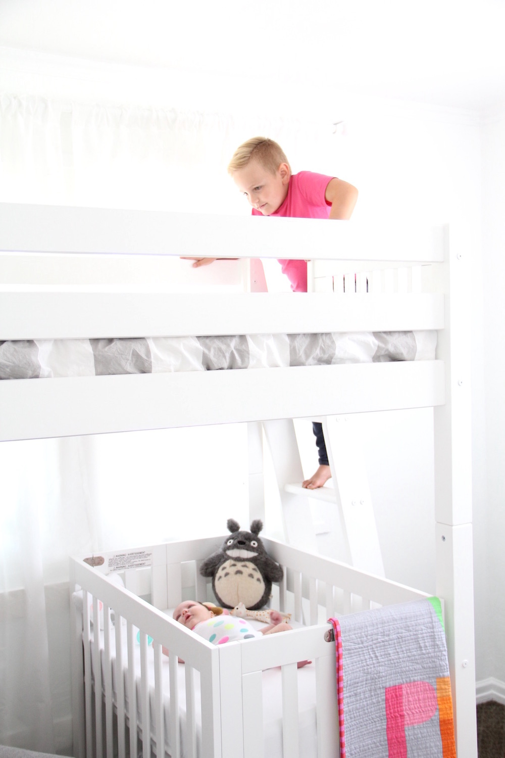 Small shared room for kids | And We Play