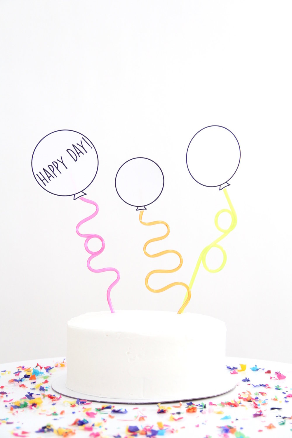 Easy Cake Topper | And We Play