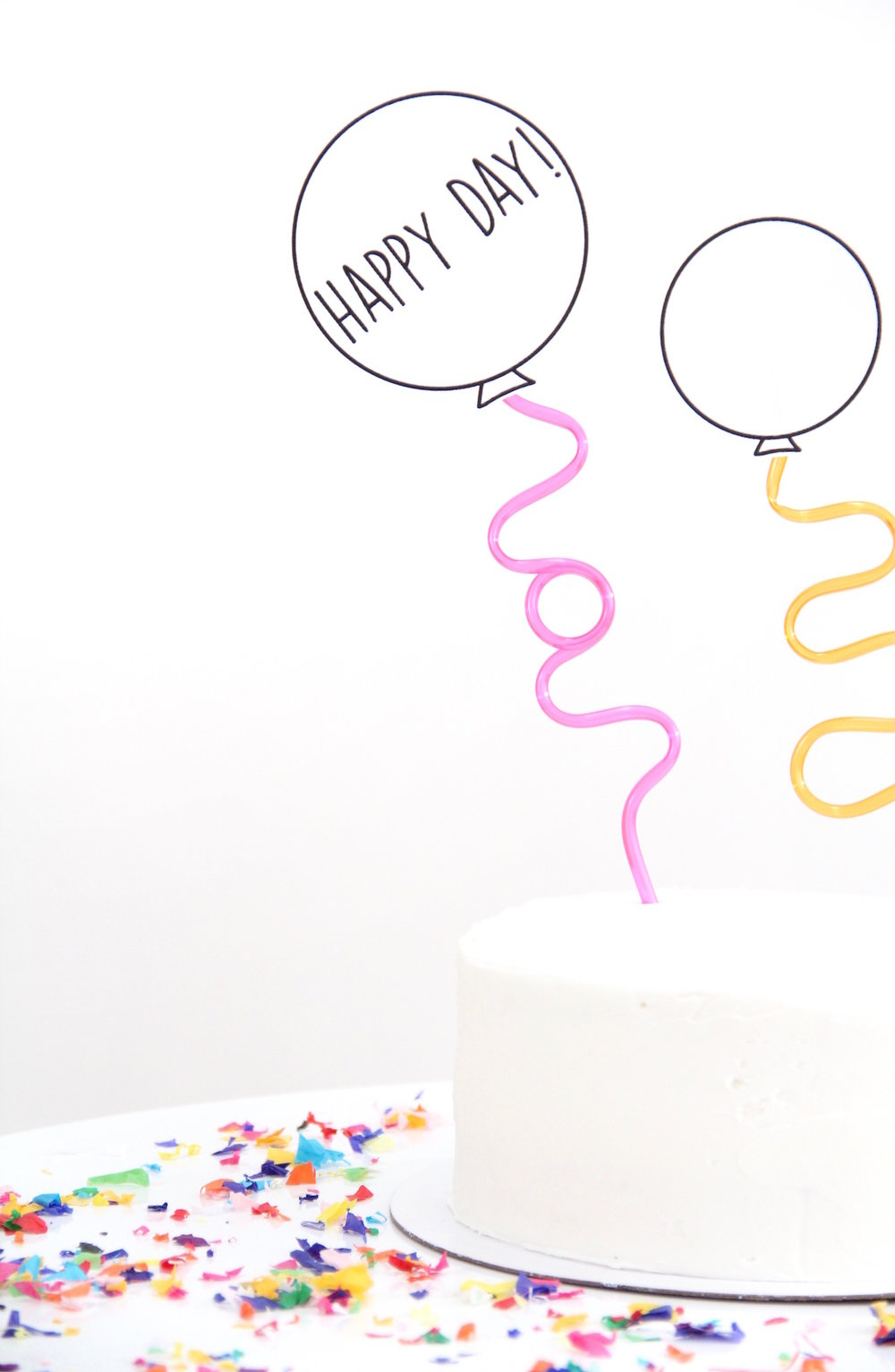 Easy and fun cake topper for kids party | And We Play