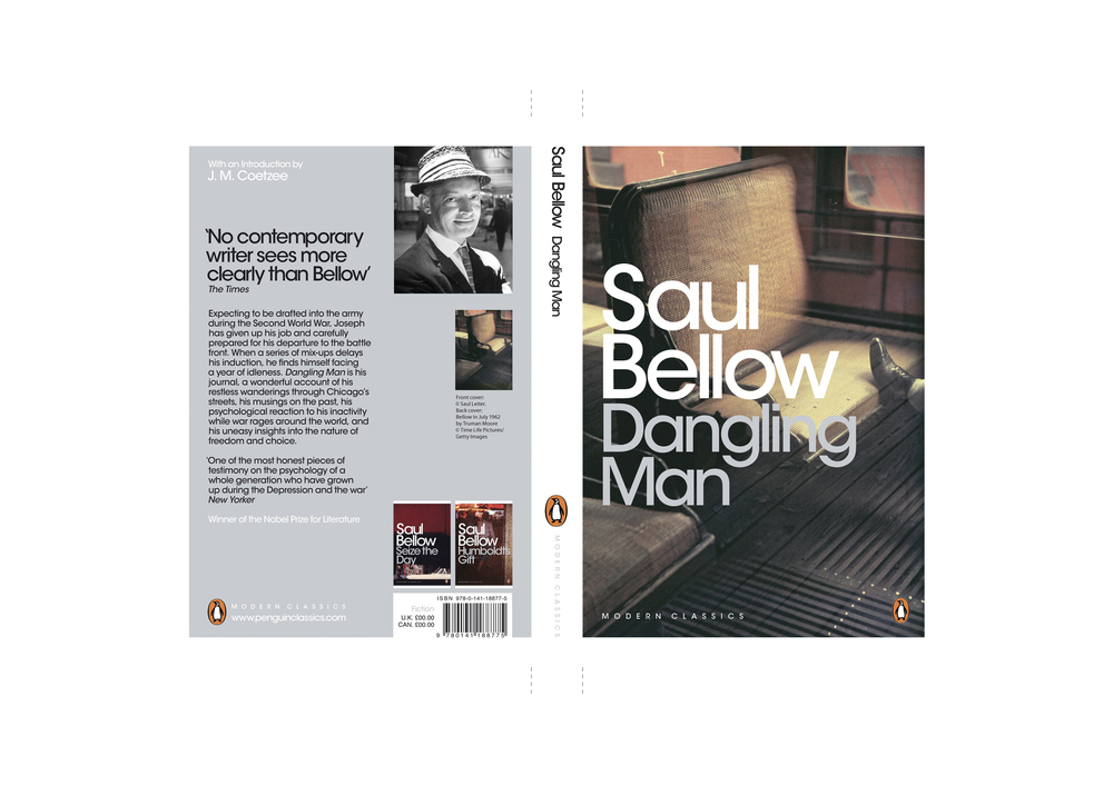 Penguin Modern Classics template (2007) -  Series Design: Jim Stoddart