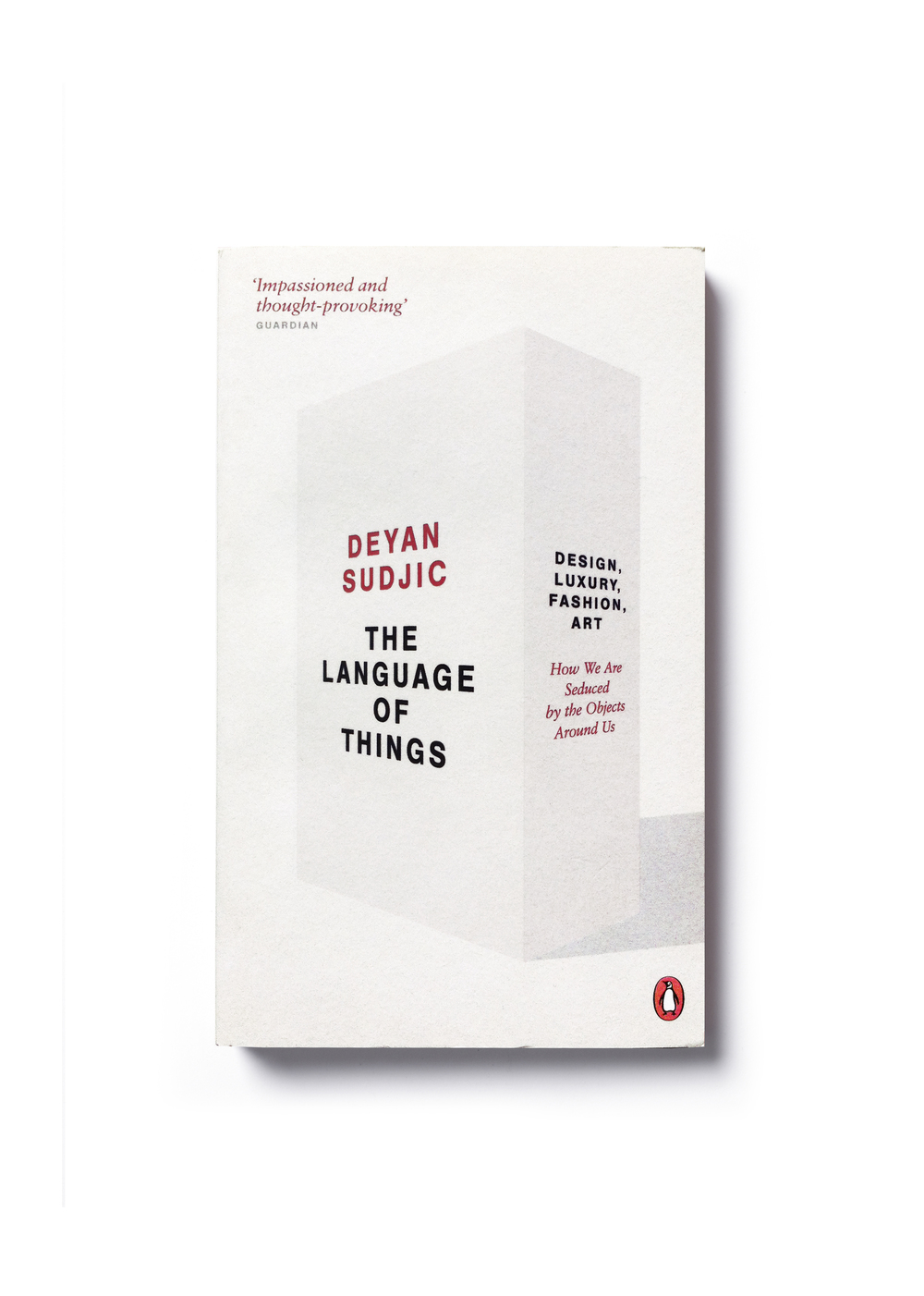 The Language of Things by Deyan Sudjic (paperback) - Design: Jim Stoddart