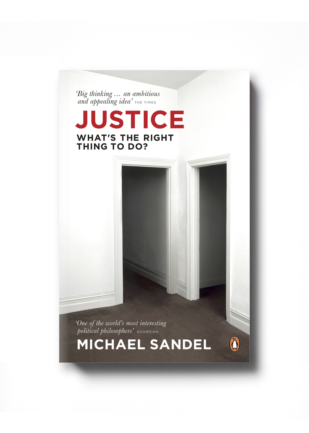Justice by Michael Sandel -  Design: Jim Stoddart